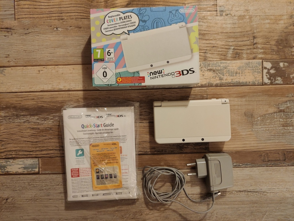 [VENDU] New 3DS CFW (Luma3DS) 110