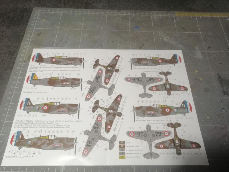 Curtiss Hawk 75 A N° 140 du capitaine Josef Duda Hobby craft 1/48 1019