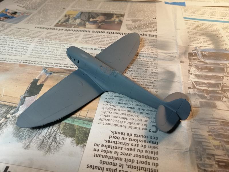Spitfire MK V Revell au 1/72 1119