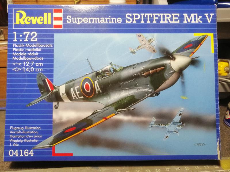 Spitfire MK V Revell au 1/72 119