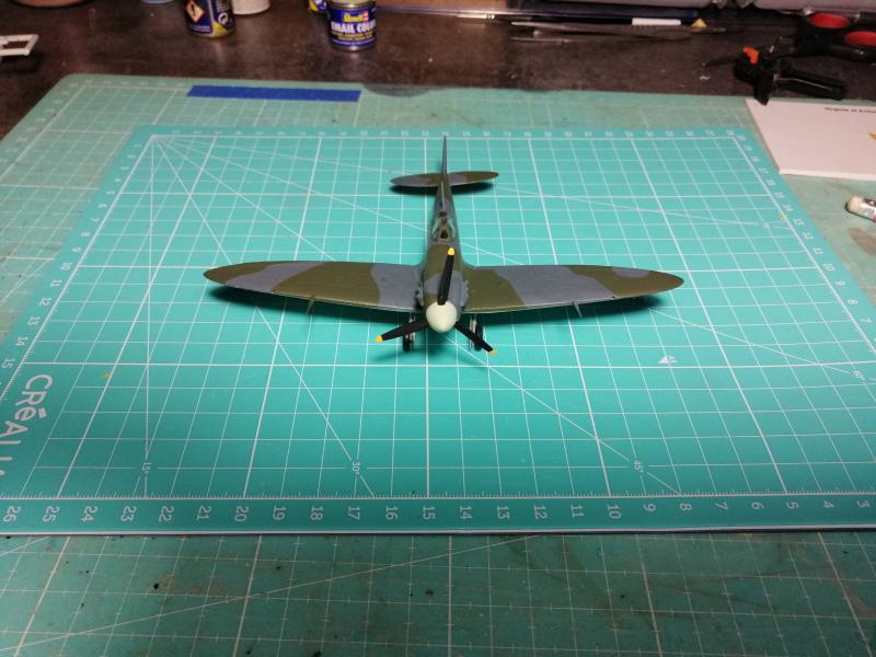 Spitfire MK V Revell au 1/72 - Page 2 1218