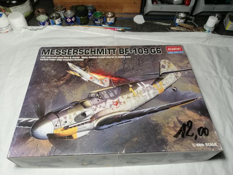 Ouvre boite Messerschmitt Bf 109G-6 ACADEMY 1/48 124