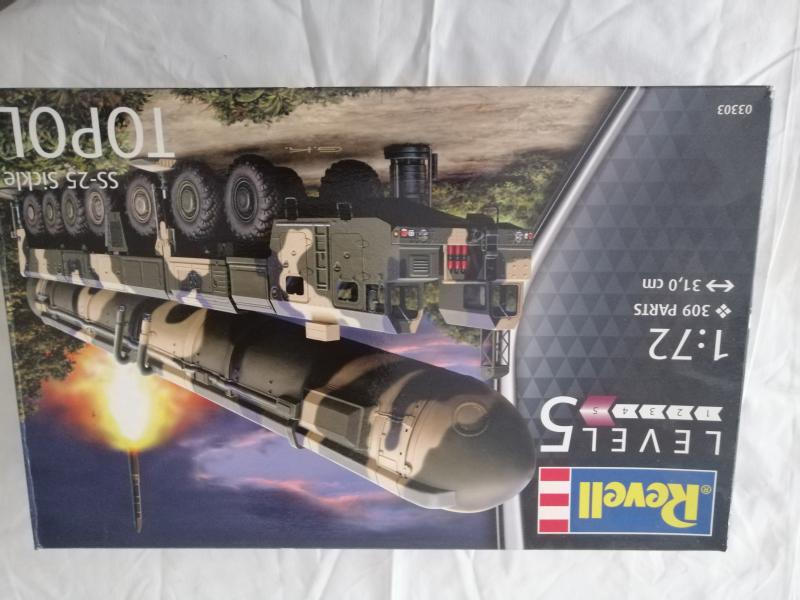 SS25 Sickle Topol Revell 1/72 125