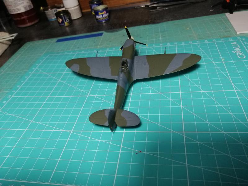 Spitfire MK V Revell au 1/72 - Page 2 1418