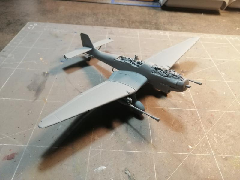 junkers JU 87 G/D Tank Buster  1/72 REVELL FINI !!!!!! - Page 2 1714