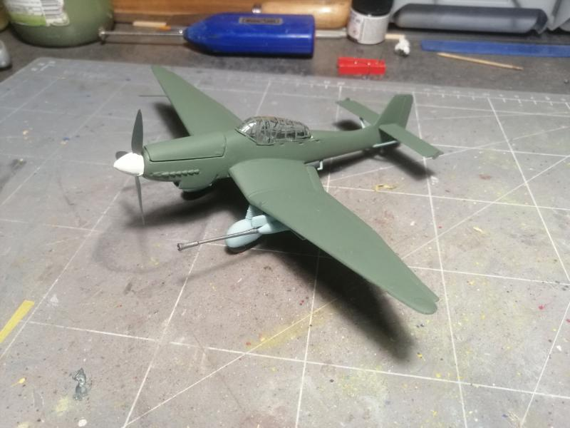 junkers JU 87 G/D Tank Buster  1/72 REVELL FINI !!!!!! - Page 2 2211