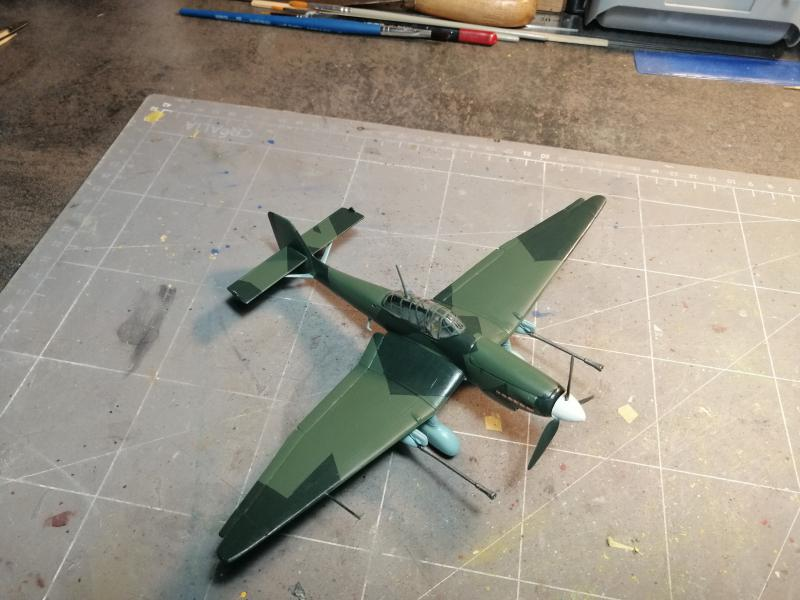 junkers JU 87 G/D Tank Buster  1/72 REVELL FINI !!!!!! - Page 3 2612