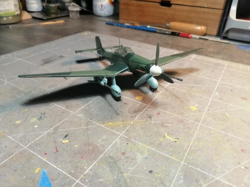 junkers JU 87 G/D Tank Buster  1/72 REVELL FINI !!!!!! - Page 3 2711