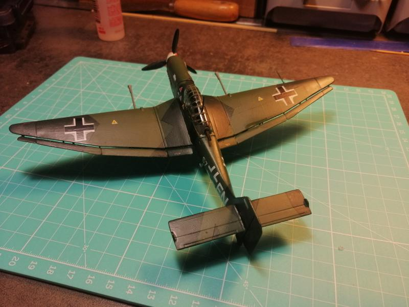 junkers JU 87 G/D Tank Buster  1/72 REVELL FINI !!!!!! - Page 3 3012