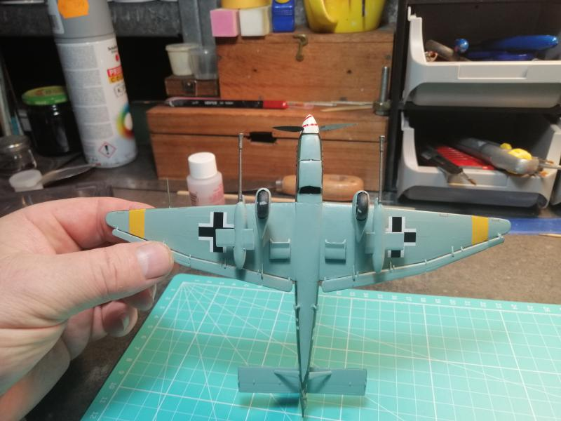 junkers JU 87 G/D Tank Buster  1/72 REVELL FINI !!!!!! - Page 3 3411