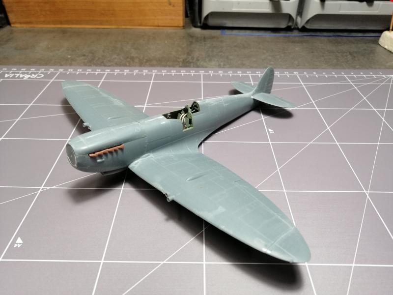 Spitfire MK.IXC late version profipack Eduard 1/48 - Page 2 3412