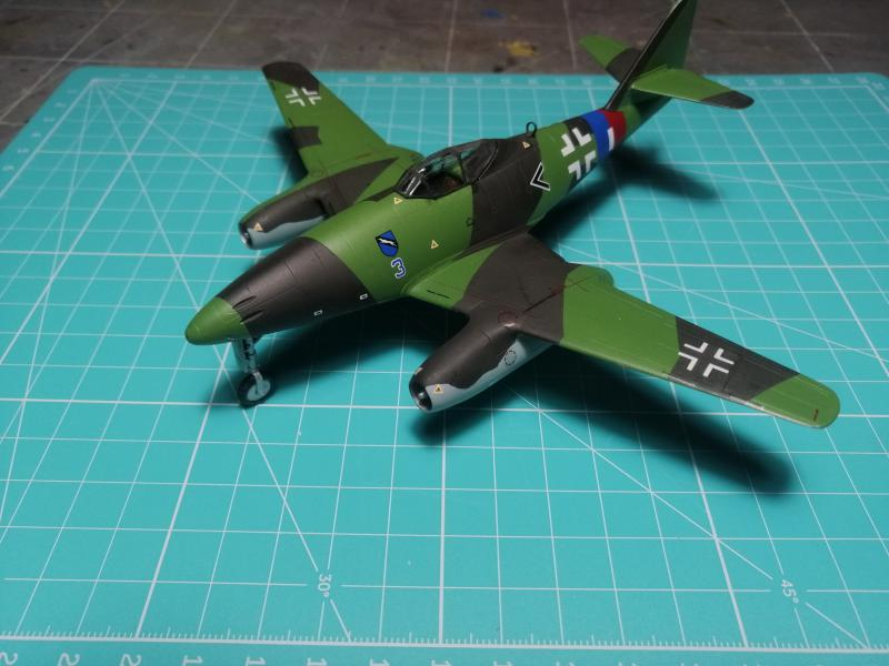 Messerscmitt Me 262A-1A 1/72 Revell page2 - Page 3 4011