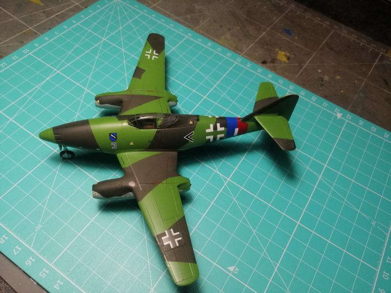 Messerscmitt Me 262A-1A 1/72 Revell page2 - Page 3 4210