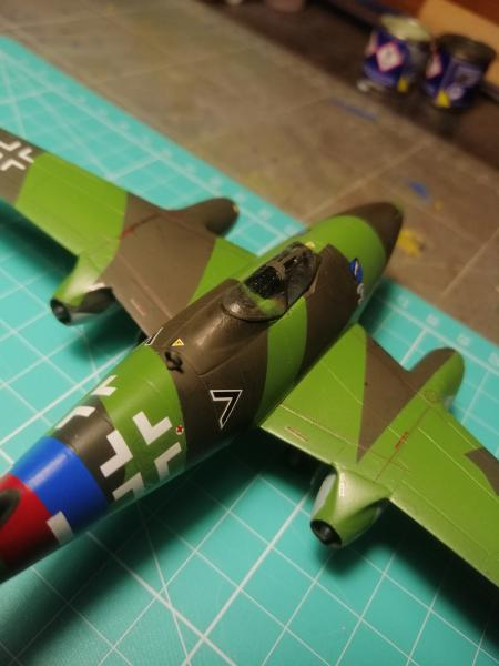 Messerscmitt Me 262A-1A 1/72 Revell page2 - Page 3 4510