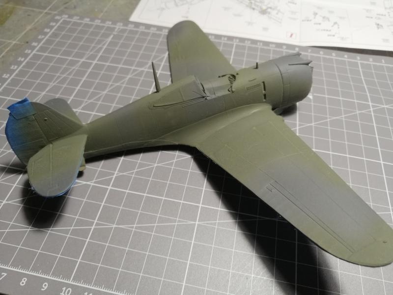 Curtiss Hawk 75 A N° 140 du capitaine Josef Duda Hobby craft 1/48 - Page 3 4611