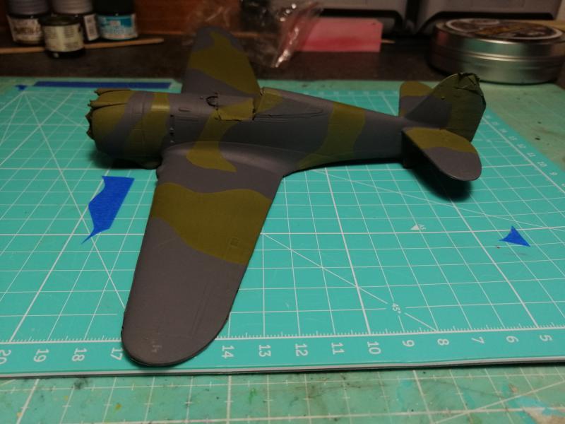 Curtiss Hawk 75 A N° 140 du capitaine Josef Duda Hobby craft 1/48 FINI !!!!!  - Page 4 5110
