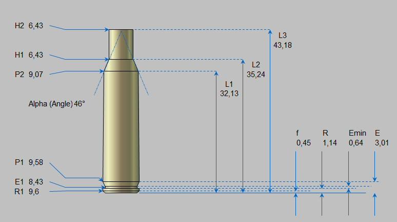 Table Calibres et Munitions sur Excel (Suite et fin) Cal0110
