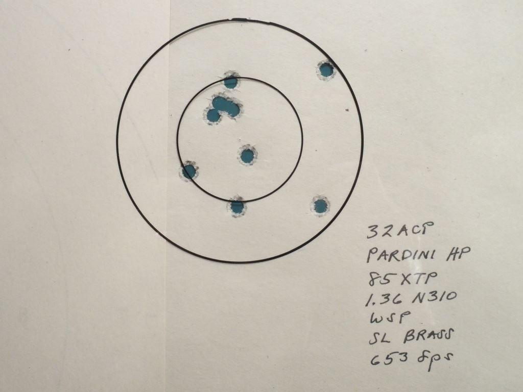 Tests: 85gr XTP in 32 acp Olym0011