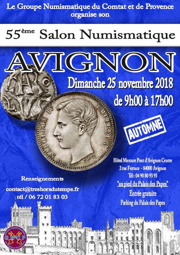 55ème Salon Numismatique d'Avignon le 25 novembre ! 2018-a10