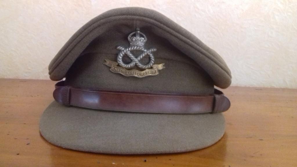 Casquette d'officier britannique WW1 South Staffordshire regiment 20180710