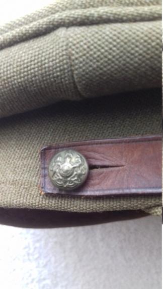 Casquette d'officier britannique WW1 South Staffordshire regiment 20180711