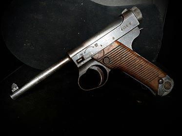 Pistolet japonais Nambu type 14 37100510
