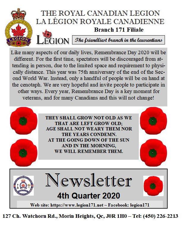 Newsletter 4th Quarter 2020   12165310