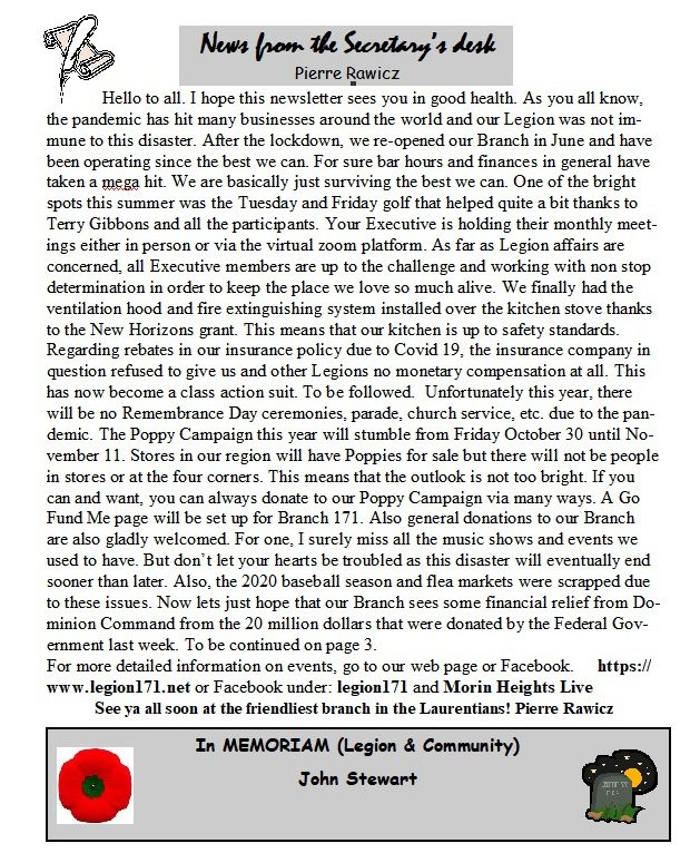 Newsletter 4th Quarter 2020   12179910