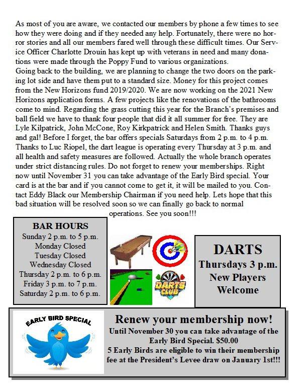 Newsletter 4th Quarter 2020   12183010