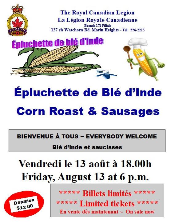 Corn Roast Friday August 13 2021 21817010