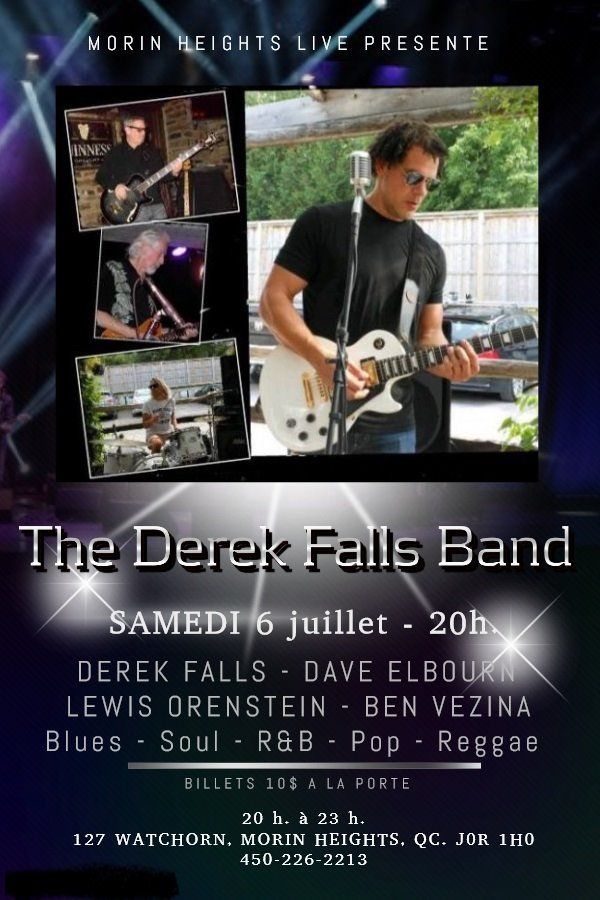 The Derek Falls Band 8P.M. July 6 2019 65174010