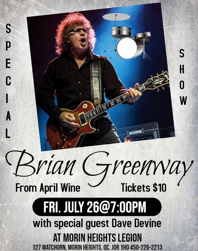 Brian Greenway July 26 2019 7 P.M. 67339010