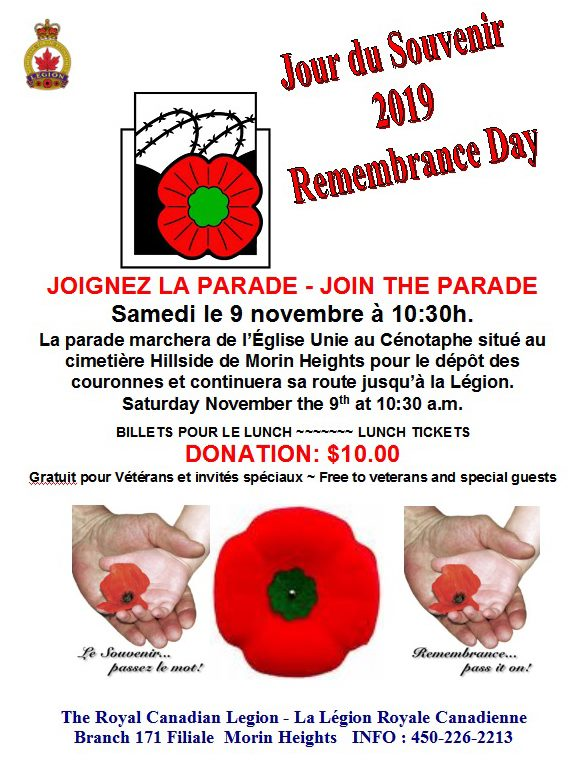 Remembrance Day November 9 2019 70016810