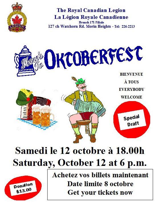 Oktoberfest Supper October 12 2019 70045410