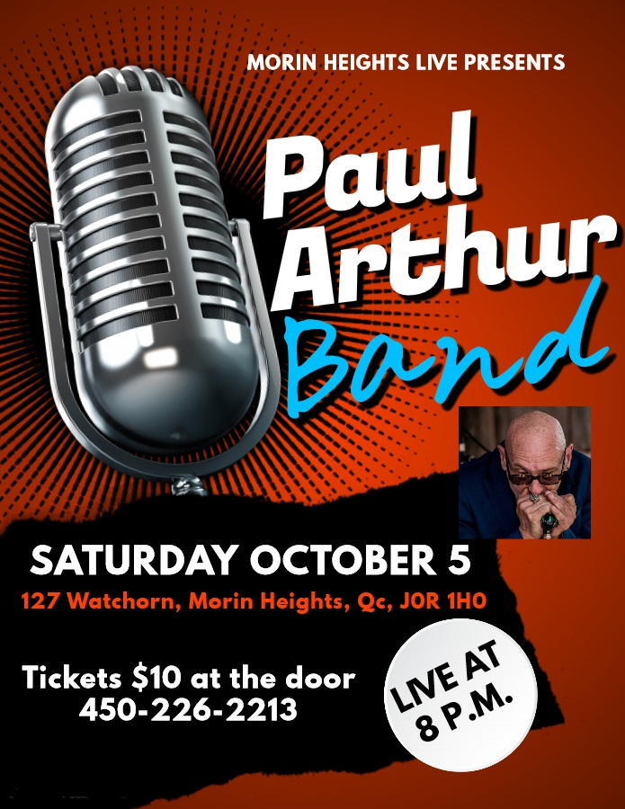 The Paul Arthur Band October 5 2019 8 PM 70994410