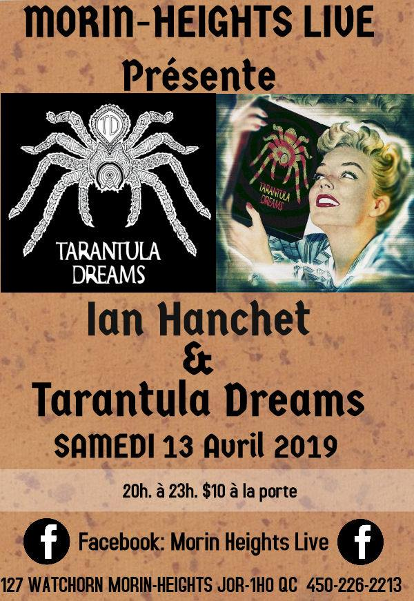 Ian Hanchet and Tarantula Dreams Saturday April 13 2019 Ian_ha10