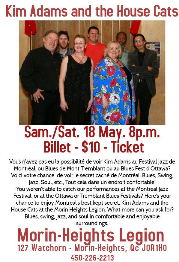 Kim Adams and the House Cats May 18 2019 Kim_ad11