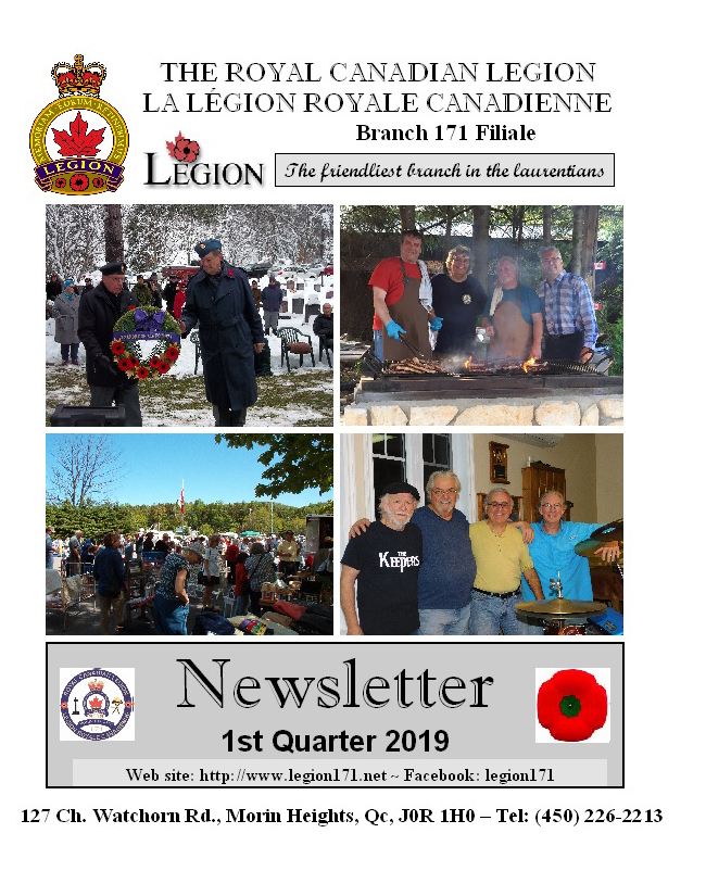 Newsletter 1st Quarter 2019   Nl201910