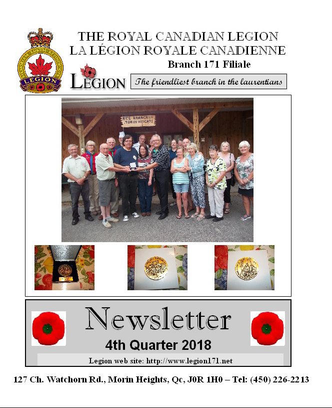 Newsletter 4th Quarter 2018   Nl4_p110