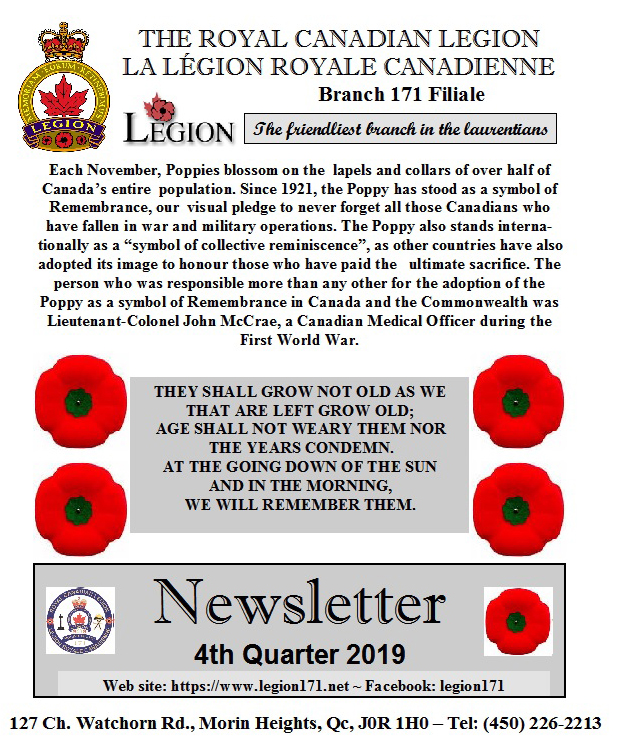 Newsletter 4th Quarter 2019   Nl_p111