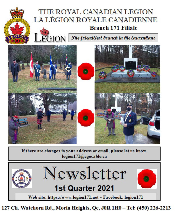 Newsletter 1st Quarter 2021   Page111