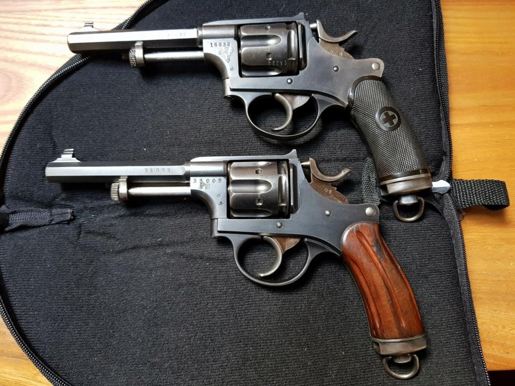 Rechargement du calibre 7,5 suisse revolver 1882 20201233