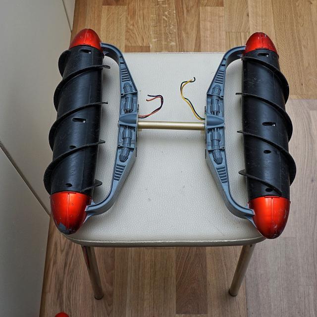 Amphibien - Bootsbasteleien mit Fleischwolfanntrieb 3a77c010