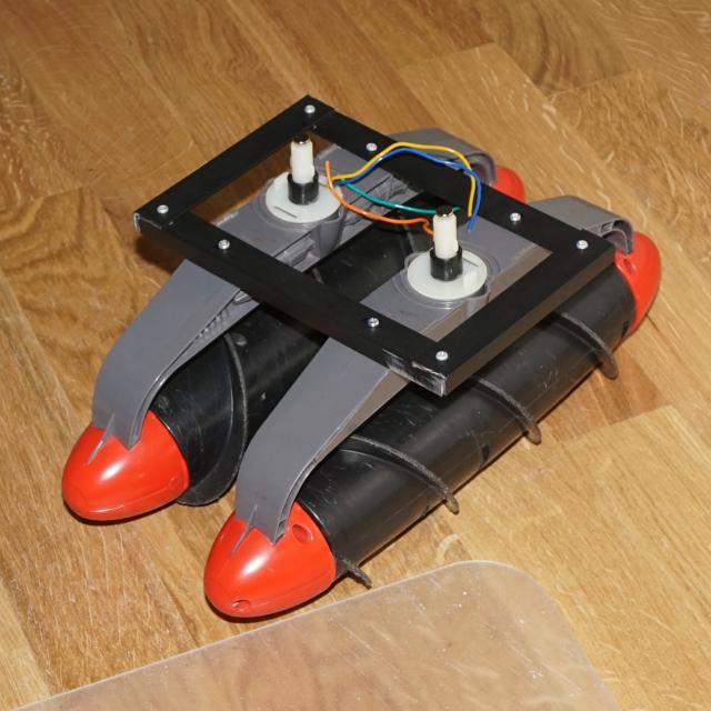Amphibien - Bootsbasteleien mit Fleischwolfanntrieb 7a474f10