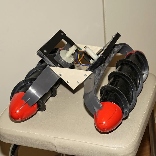 Amphibien - Bootsbasteleien mit Fleischwolfanntrieb 7fb55610
