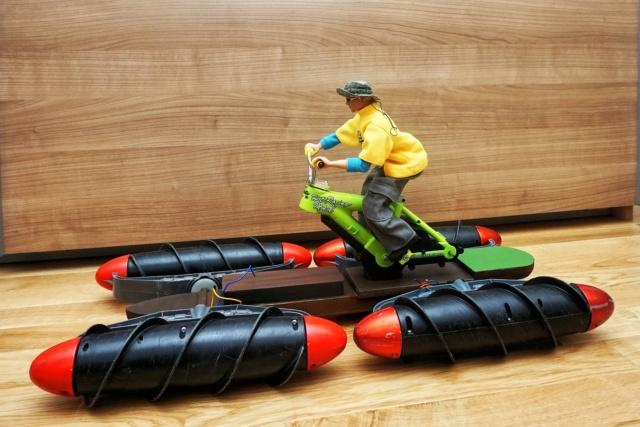 Amphibien - Bootsbasteleien mit Fleischwolfanntrieb Dsc00919