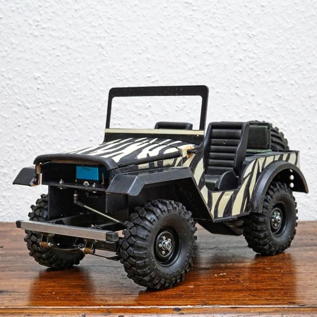 Veroma Jeep 1:8  Umbau Dsc01116