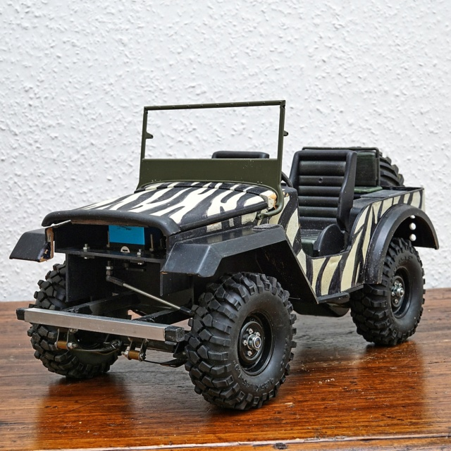 Veroma Jeep 1:8  Umbau Dsc01119