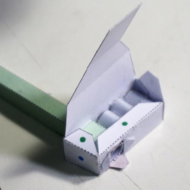 Blechtrommler aus Pappe Dsc02825