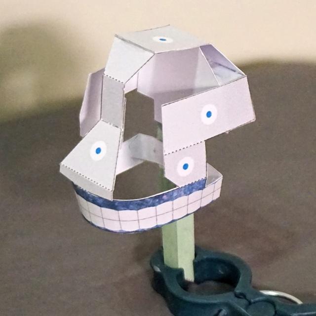 Blechtrommler aus Pappe Dsc02826